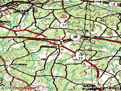 Siloam topographic map