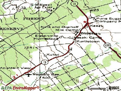 Kurtistown topographic map