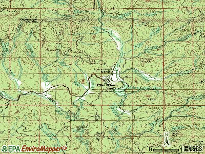 Elk River topographic map