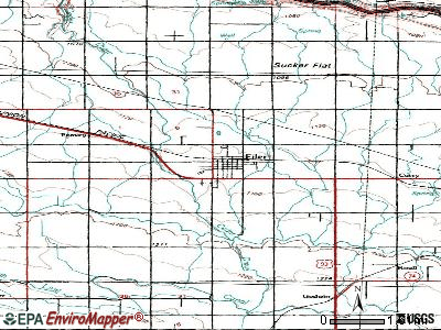 Filer topographic map