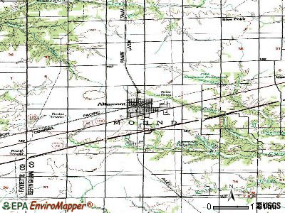 Altamont topographic map