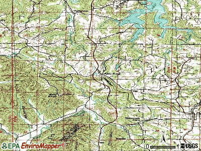 Alto Pass topographic map