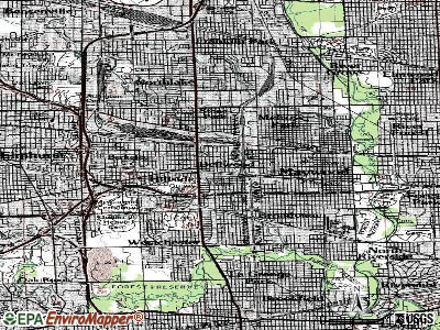 Bellwood topographic map