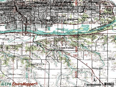 Coal Valley topographic map