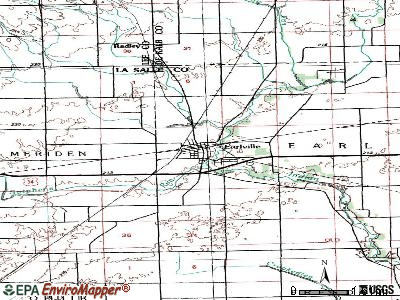 Earlville topographic map