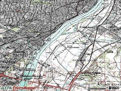 East Carondelet topographic map