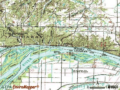 Grafton topographic map
