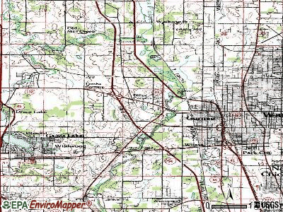 Gurnee topographic map