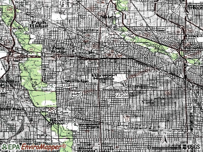 Harwood Heights topographic map
