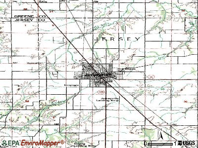 Joliet topographic map