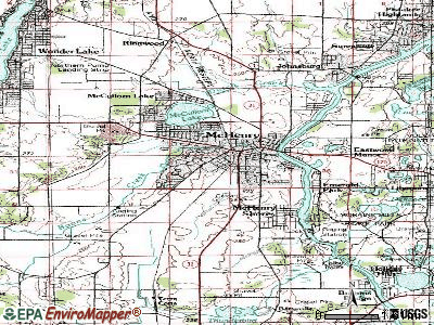 McHenry topographic map