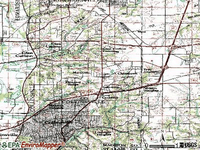 Maryville topographic map
