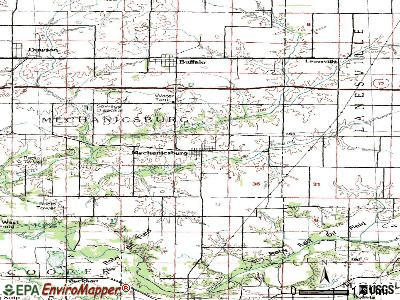 Mechanicsburg topographic map