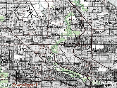 Morton Grove topographic map