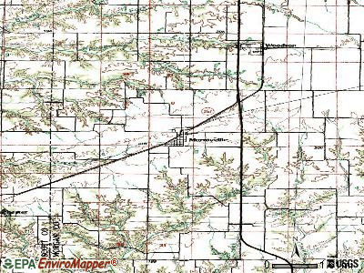 Naperville topographic map