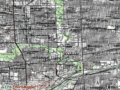 Northbrook topographic map