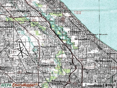 Northfield topographic map
