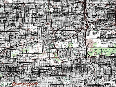 Oak Grove topographic map