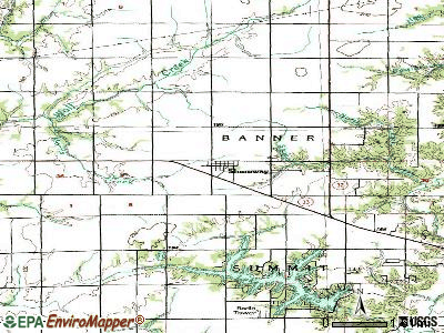 Shumway topographic map