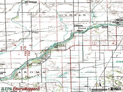 Sun River Terrace topographic map