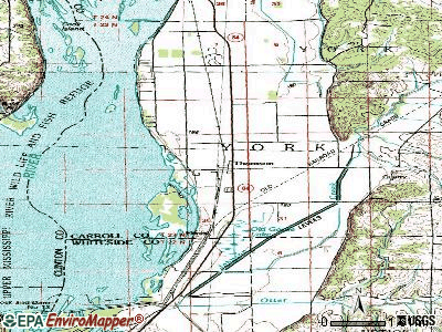 Thomson topographic map
