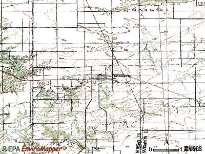 Waverly topographic map