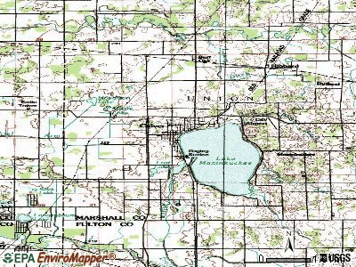 Culver topographic map