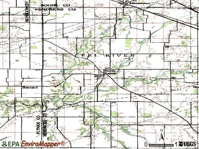 North Salem topographic map