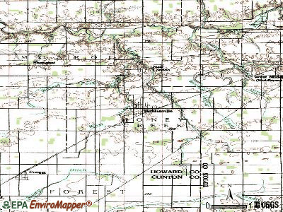 Russiaville topographic map