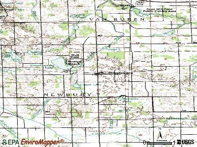 Shipshewana topographic map