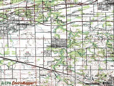 South Haven topographic map