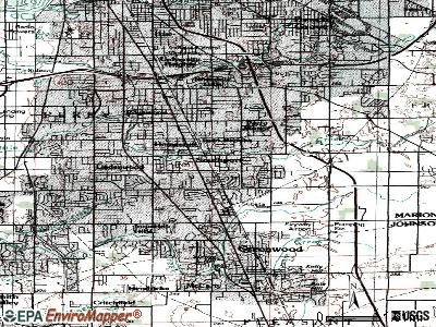 Southport topographic map