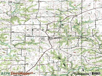 Andrew topographic map