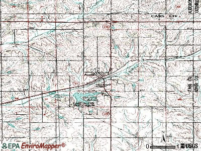 Anita topographic map