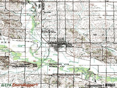 Belle Plaine topographic map
