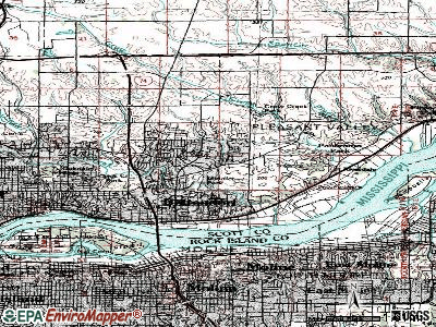 Bettendorf topographic map