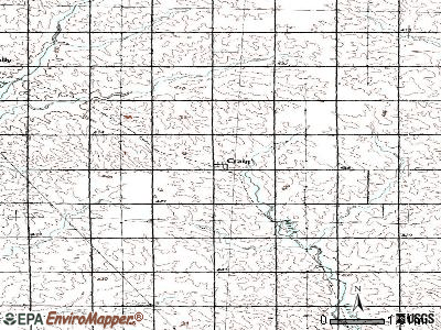 Craig topographic map
