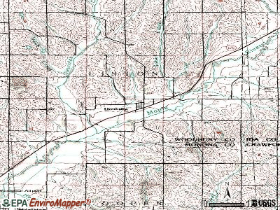 Danbury topographic map