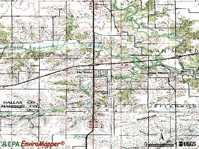 De Soto topographic map