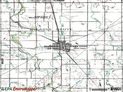 Eagle Grove topographic map