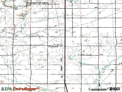 Fostoria topographic map