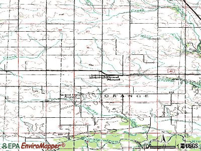 Grand Mound topographic map