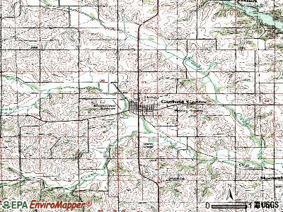 Guthrie Center topographic map