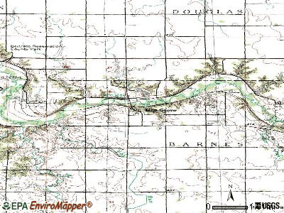 Linn Grove topographic map
