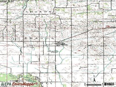 Lost Nation topographic map