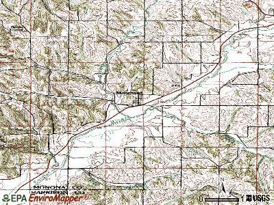 Moorhead topographic map