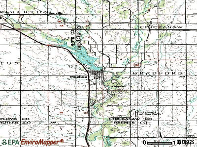 Nashua topographic map