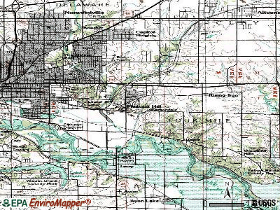 Pleasant Hill topographic map