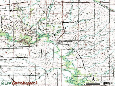 Quasqueton topographic map