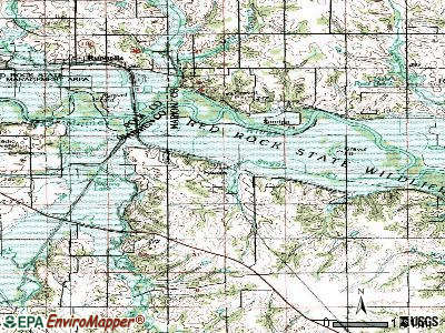 Swan topographic map